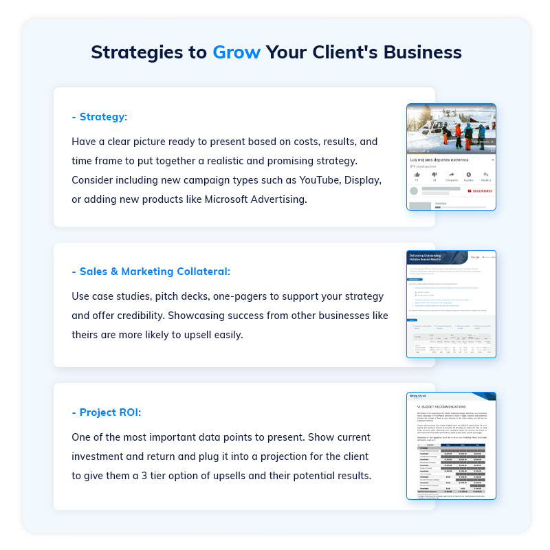 Strategies to Grow Your Clients' Businesses